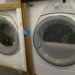 Whirlpool WFW8300 / WGD8300 Front-Load Washer And Gas Dryer, White,