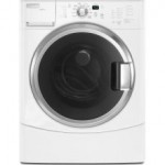 (9) Maytag MHWZ600TW EpicZ Front-Load Washer, White with Chrome