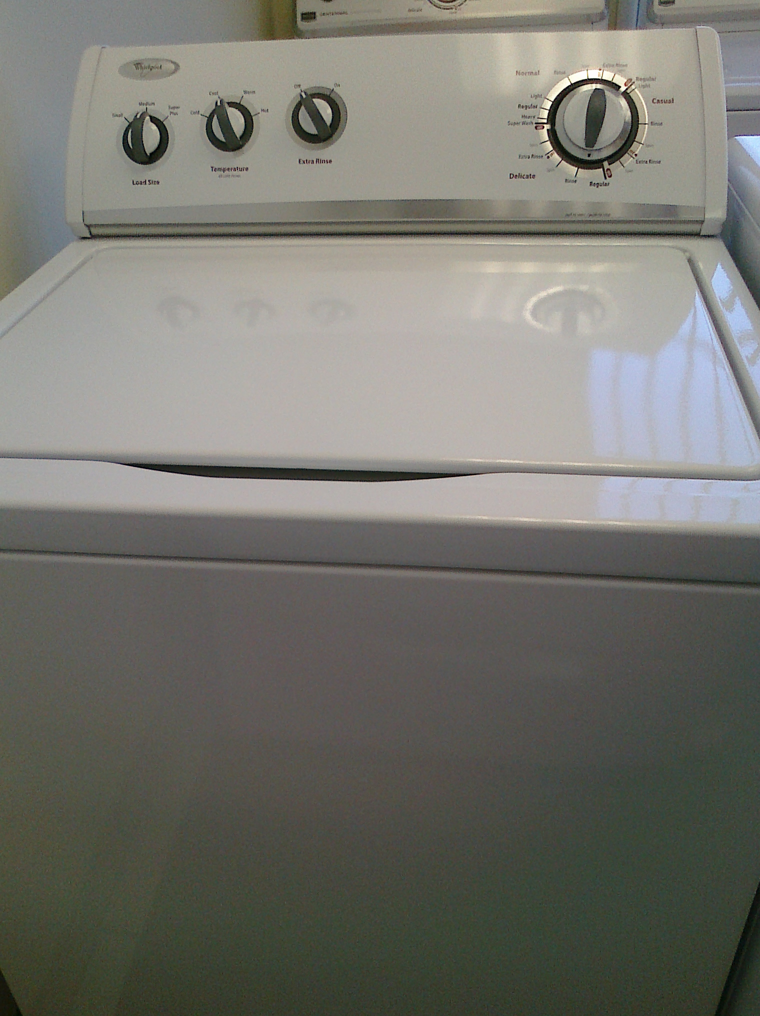 (9) Whirlpool WTW5200VQ Top Load Washer, White