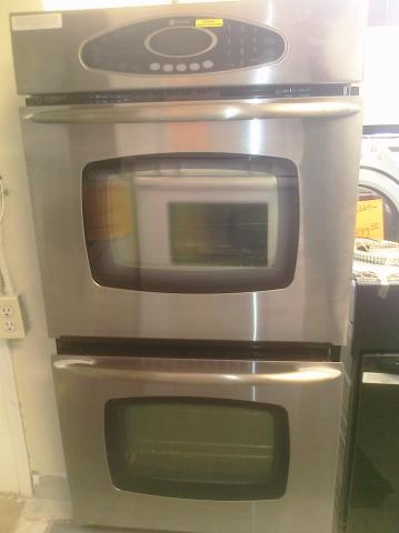 (9) Maytag MEW5627DDS 27″ Built-In Self-Clean Electric Double Oven, Stainless Steel