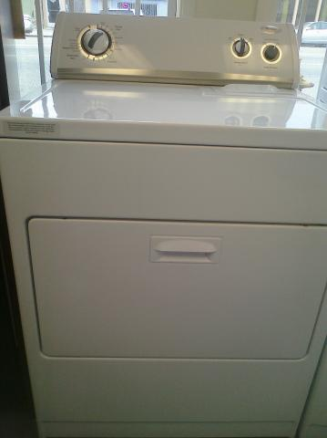 (9) Whirlpool WED5510VQ Electric Dryer, White