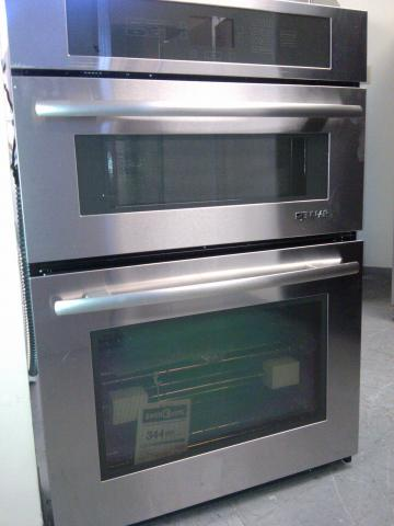 (9) Jenn Air JMW2430WS 30″ Built-In Oven/Mircrowave Combination with Convection, Stainless Steel