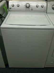 (9) Maytag MVWC400XW Centennial Commercial Technology Washer, White
