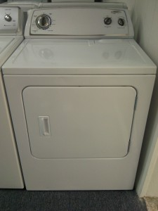 (9) Whirlpool WED4910XQ Electric Dryer, White