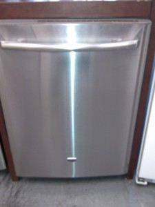 (4) Maytag MDB7760AWS 24″ Built-In Dishwasher, Stainless Steel