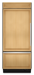 (9) KitchenAid KBL036FTX Left-Hand Door Swing 20.5 CuFt 36″ Width Requires Custom Panels and Handles