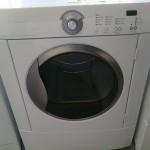 (7) Frigidaire Gallery GLGQ2152ES Gas Dryer, White