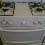(7) Sunbeam 30″ Gas Range, White