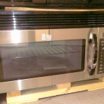 (7) Goldstar MV1604ST 30″ Over The Range Microwave Hood, Stainless Steel