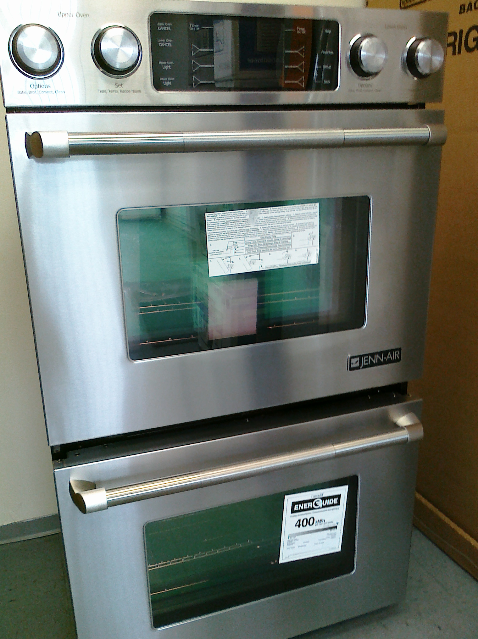 (10) Jenn Air JJW9830DDP 30″ Double Convection Pro-Style Electric Oven