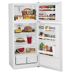 (9) Kirkland by Whirlpool ST14CKXSQ 14 Cubic Foot Top-Mount Refrigerator, White
