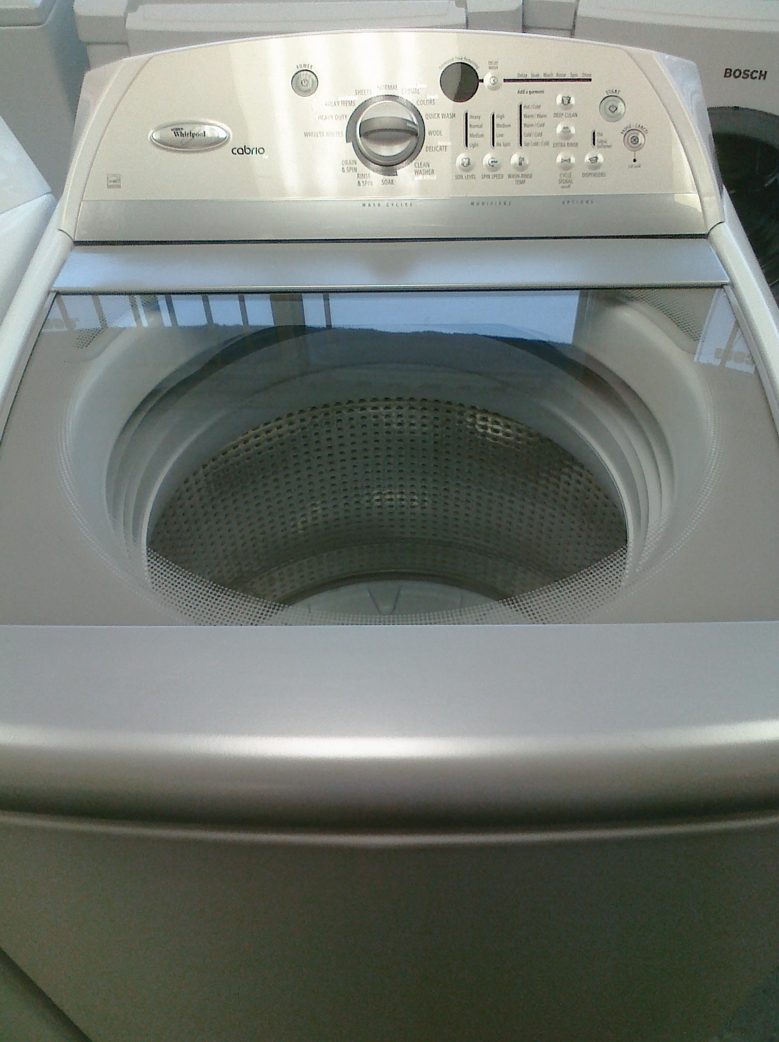 9 Whirlpool Wtw6800ww Cabrio Energy Star Top Load Washer With
