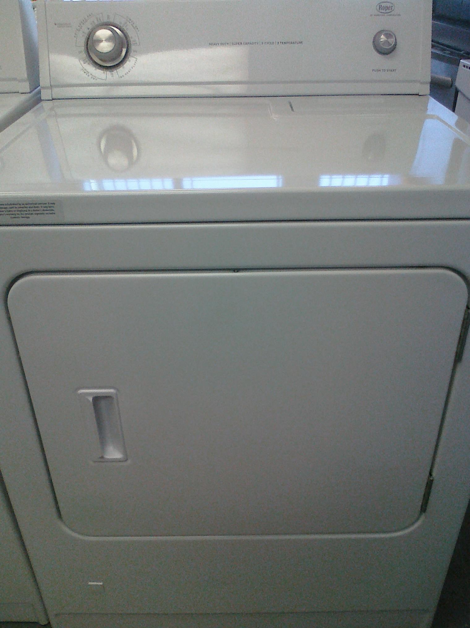 9 Roper Rgd4440vq Gas Dryer White Feder S Outlet