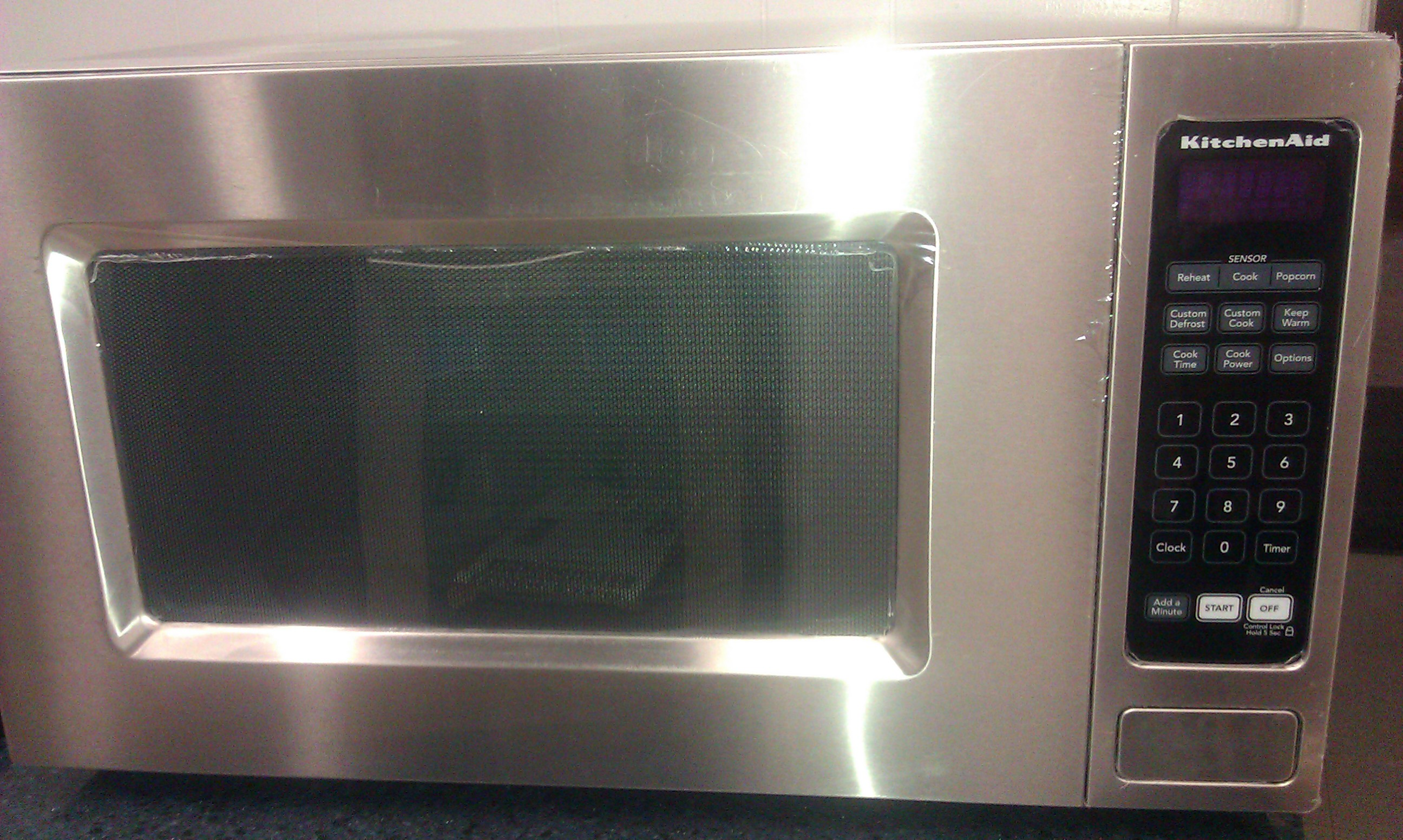 KitchenAid KCMS2055SSS 2.0 CuFt Built-In Microwave, Stainless Steel ...