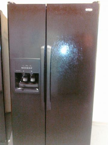 9 Amana Asd2522wrb 25 2 Side By Side Refrigerator With