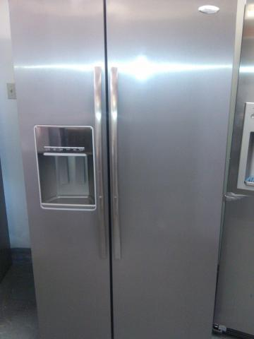 whirlpool gold side by side refrigerator. whirlpool gold gss26c4xxa side by refrigerator o